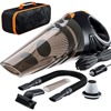 Strong Power Car Vacuum Cleaner DC 12 Volt 120W With Handbag 4 0 KPA Cyclonic Wet