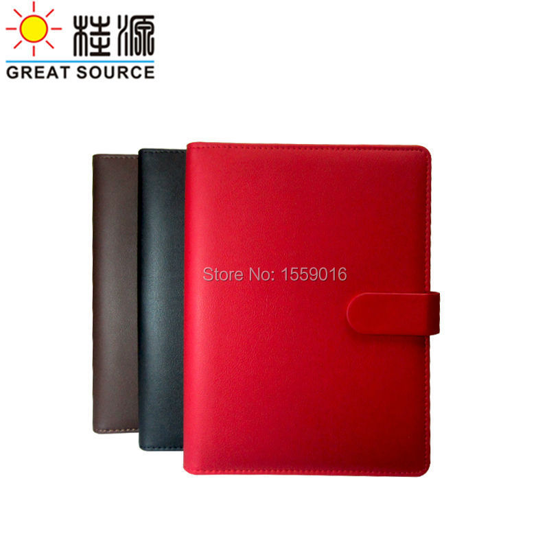 A5 Rings Folder Notepad Magnet Closer For A5 Notebook Planner Agenda Clear Pen Bag Colorful Sticker Soft Ruler Gift Set