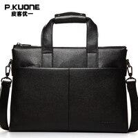 Сумки-мессенджеры из натуральной кожи в деловом стиле, сумки для ноутбука, мужские дорожные сумки из воловьей кожи на плечо, P630551