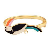 2018 New Fashion top quality Women's/Girl's pink blue bird style candy color oiled Bracelets & Bangles Gift Jewelry for women
