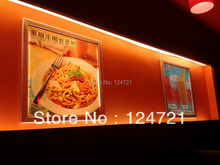 Led panel light 15w rectangle restaurant wall mounted menu light box signs ,aluminium snap frame