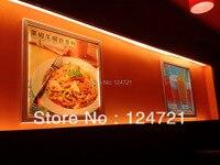Led 패널 빛 15 w 직사각형 레스토랑 벽 마운트 메뉴 라이트 박스 표지판  알루미늄 스냅 프레임