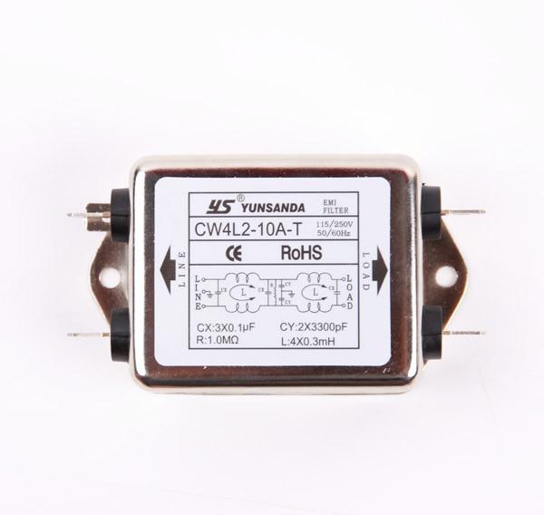 EMI Power Filter CW4L2-20A/6A/10A/3A-T Dual Filter Purifier CW4L2-20A CW4L2-6A CW4L2-10A CW4L2-3A Dual Filter PurifierEMI Power Filter CW4L2-20A/6A/10A/3A-T Dual Filter Purifier CW4L2-20A CW4L2-6A CW4L2-10A CW4L2-3A Dual Filter Purifier