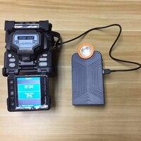 Sumitomo T 71C Z1C Fujikura FSM 70S FSM 80S 62 S Furukawa S178 alle modelle von Fiber Fusion Splicer mobile batterie 10000 mAh-in Glasfaser-Ausrüstungen aus Handys & Telekommunikation bei