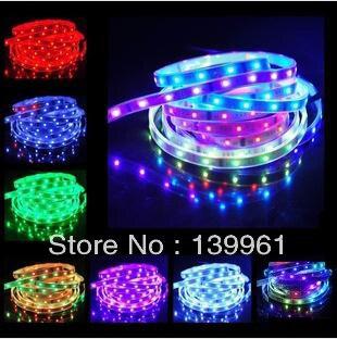 IP67 Pipe Casing Waterproof 5M 150 LEDs 5050 SMD Magic Dream Color RGB LED Light Strip Lamp