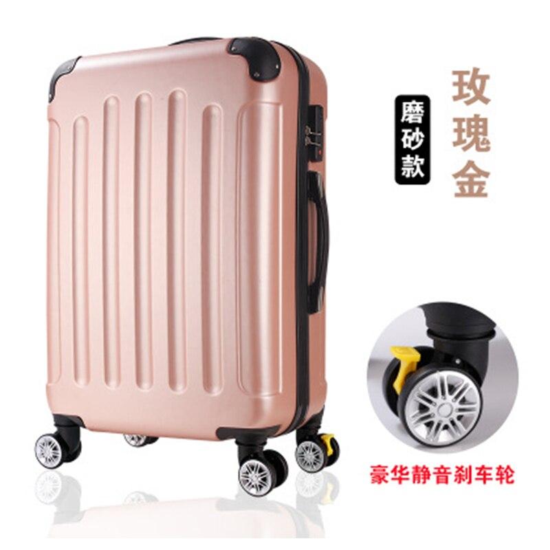 40ef7501d8 LEINASEN Rolling αποσκευών Spinner τροχούς Βαλίτσα ανδρών τροχός ABS ...