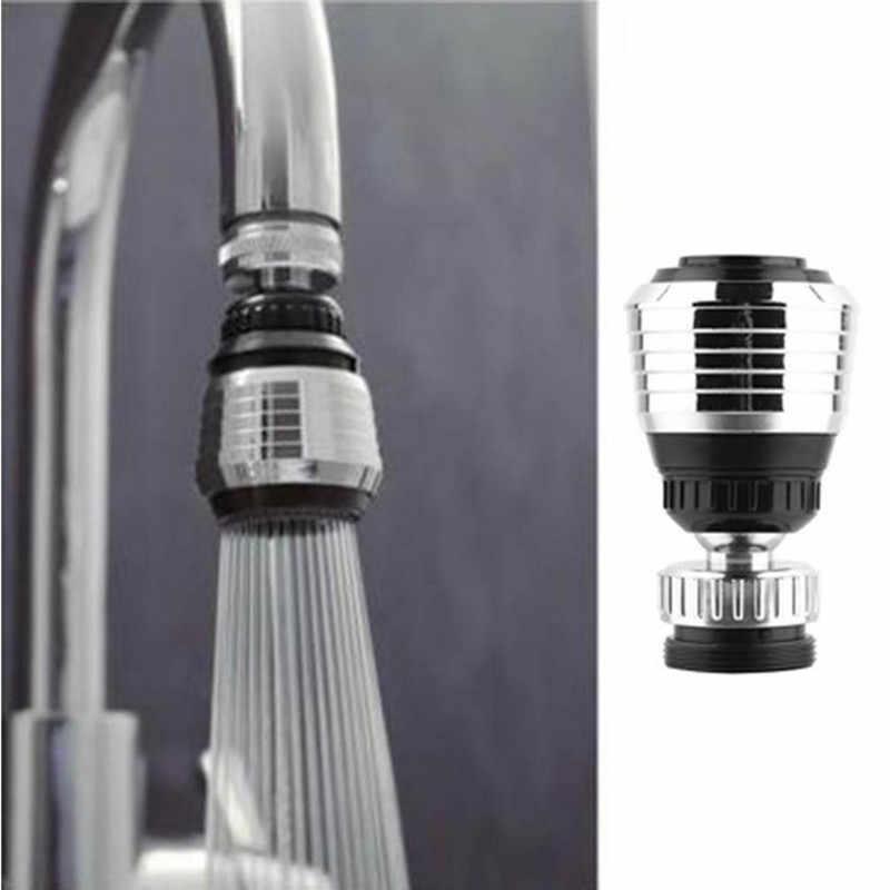 주방 수도꼭지 360 Degree 조절 물 필터 기관총 물 절약 노즐 수도꼭지 커넥터 주방 액세서리. Q