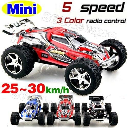 Free shipping  ! WL 2019 High speed Mini Rc Truck ( 20-30km/hour) Super car / Amazing Remote Controll Car / Radio Car