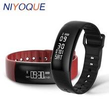 2017 Новый A69 Smart пульсометр измерять кровяное давление смарт-браслет Фитнес браслет вызова SMS часы для iOS и Andriod телефон