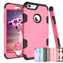 360 Shockproof Full Protect Cover Hybrid TPU+ Rubber Hard Rugged Armor Rose Gold Phone Case For iPhone 12 Pro11 XR 7 8 Plus X XS