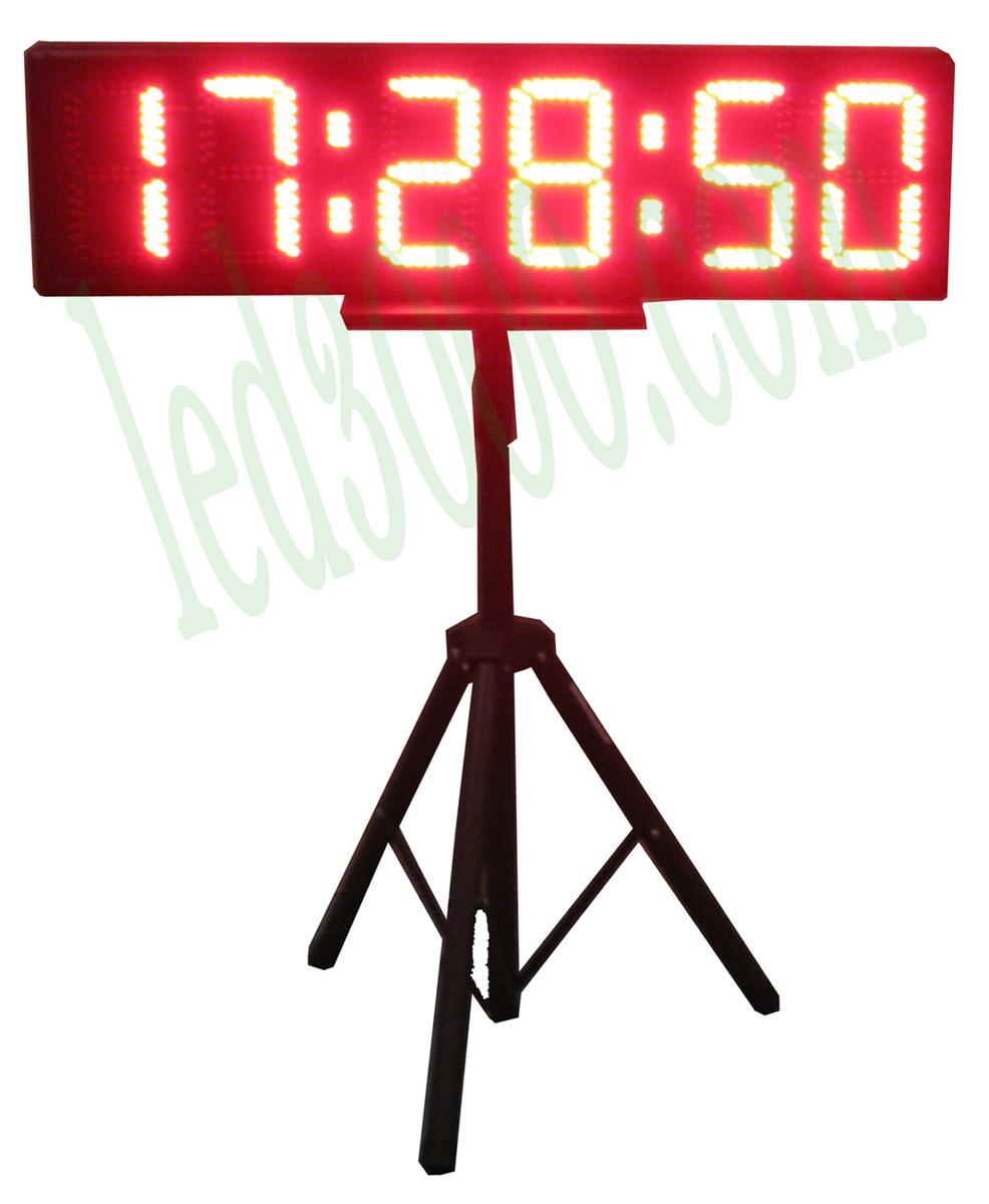 8 '' LED odpočítávání / maratónský časovač pro sportovní běžecké závody (HST6-8R)