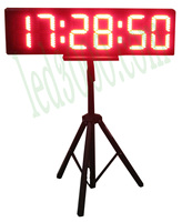 8'' LED Countdown/ Marathon Timer For Sporting Running Race Event (HST6 8R)
