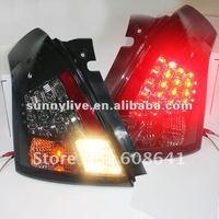 For SUZUKI Swift LED Tail Lamp V1 Type 2006 2010