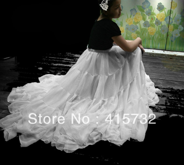Online Buy Wholesale long white ruffle skirt from China long white ...