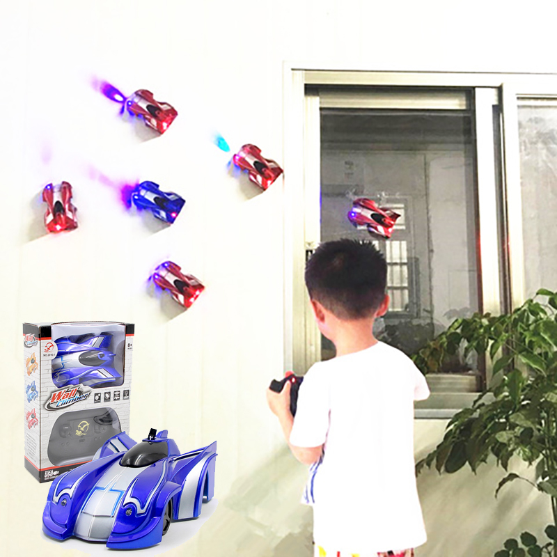 Mini Rc Car Wall Climber Radio-controlled Cars Machine On the Remote Control High-Speed Remote Control Car Radio Machine