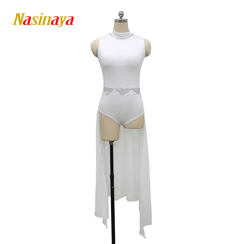 Customized Rhythmic Gymnastic Dress Leotards Dance Costume Bodysuit Aerobics Sports Wear Training Performance Child Adult Girl 2