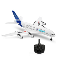 Wltoys XK A120 Airbus A380 Model Plane 3CH EPP 2.4G 8mins Flight Time Remote Control Airplane Fixed wing RTF Toy Gifts