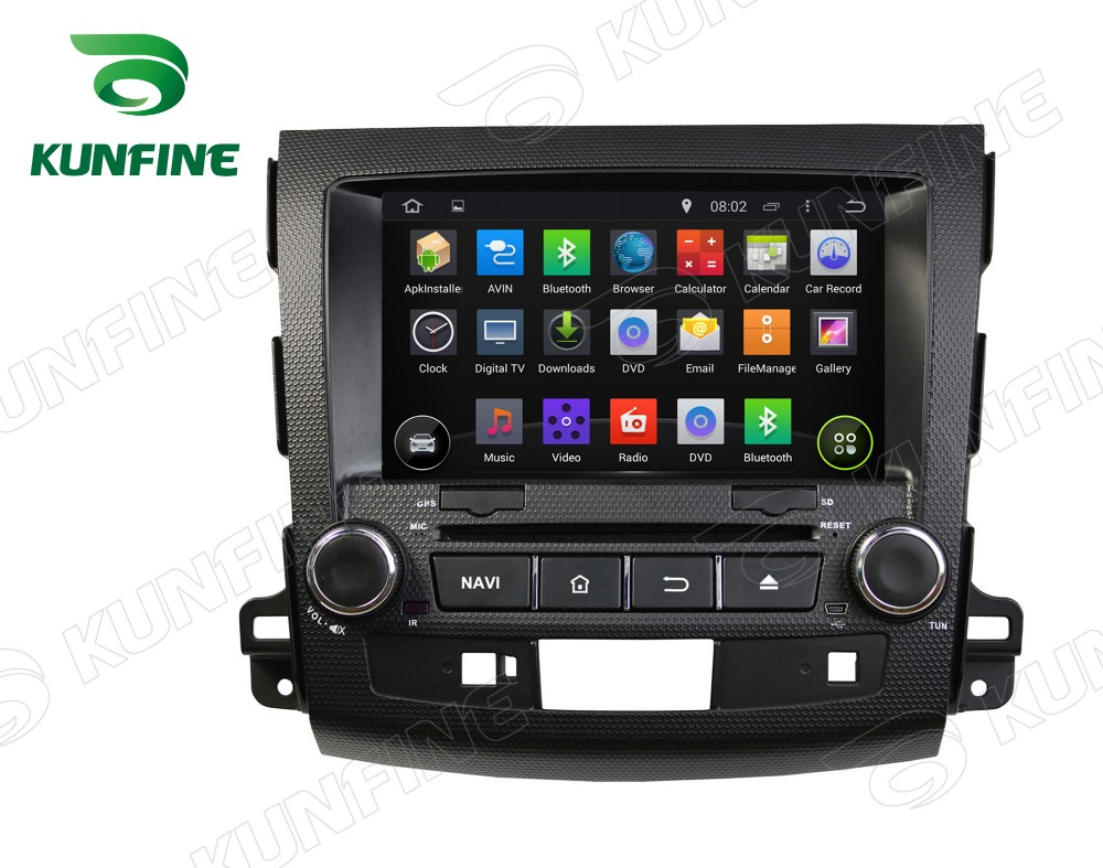 Car dvd GPS Navigation player for outlander 2006-2012 A