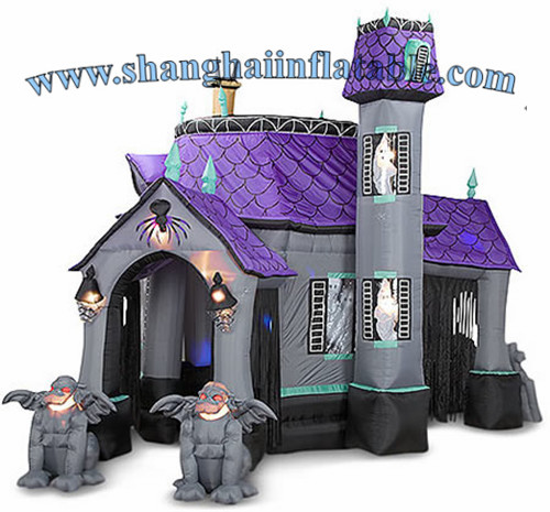 popular halloween inflatable haunted house for sale in playground from sports entertainment on aliexpresscom alibaba group