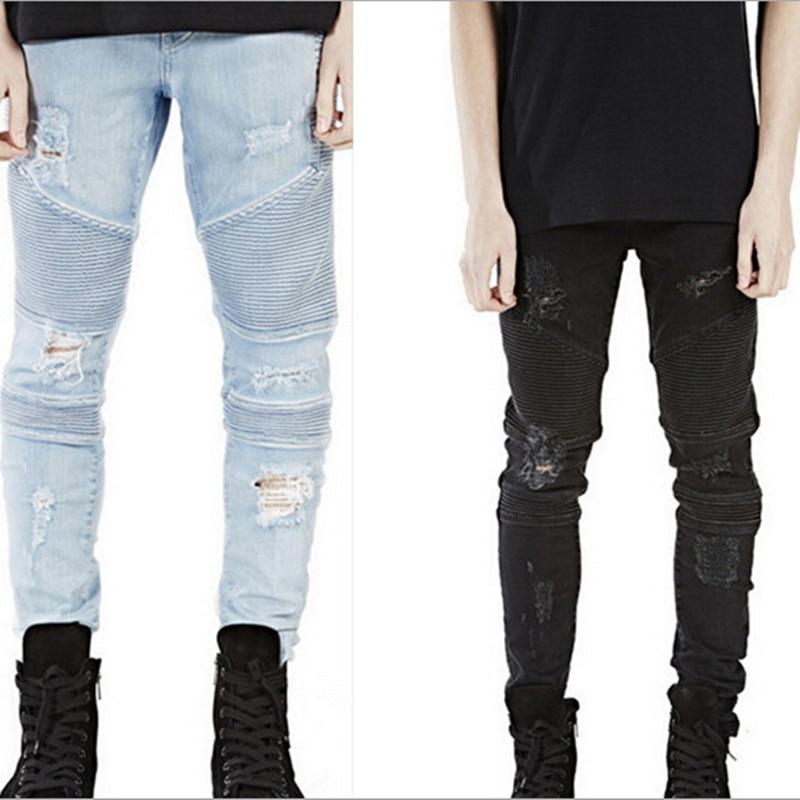 Aliexpress.com : Buy PUNKOOL 2016 Fashion Mens Skinny Jeans Men ...