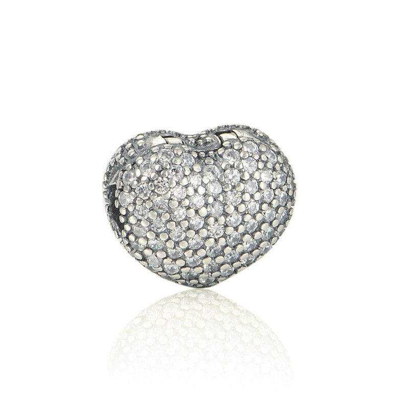 Original New 100% 925 Sterling Silver Charm Authentic Classic Heart Lemon Flower Fragrance Retro Elegant Women Bead Wedding Jewelry Gift Cool In Summer And Warm In Winter Beads Beads & Jewelry Making