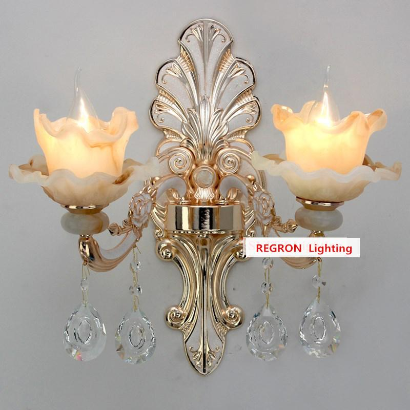 modern Hallway jade wall lighting mirror Led wall sconce living room indoor Wall Light fixtures shade crystal lamp led Arandela детская футболка классическая унисекс printio я люблю футбол
