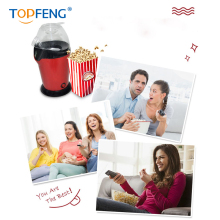 Free shipping TopFeng  Mini Household Healthy Hot Air Oil-free Popcorn Maker Machine Corn Popper