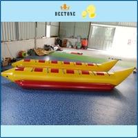 PVC inflatable Tarpaulin Flying Fish Tube Towable/Inflatable Water Games Flyfish Banana Boat For Sea