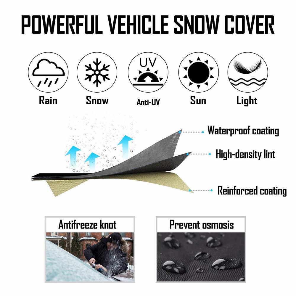 Đa năng Kính Chắn Gió Tuyết Và Băng Bao Phủ Từ Ô Tô Bảo Vệ Này Có Phù Hợp Với Bất Kỳ Xe SUV Xe Tải Gương Tuyết Bao Phủ