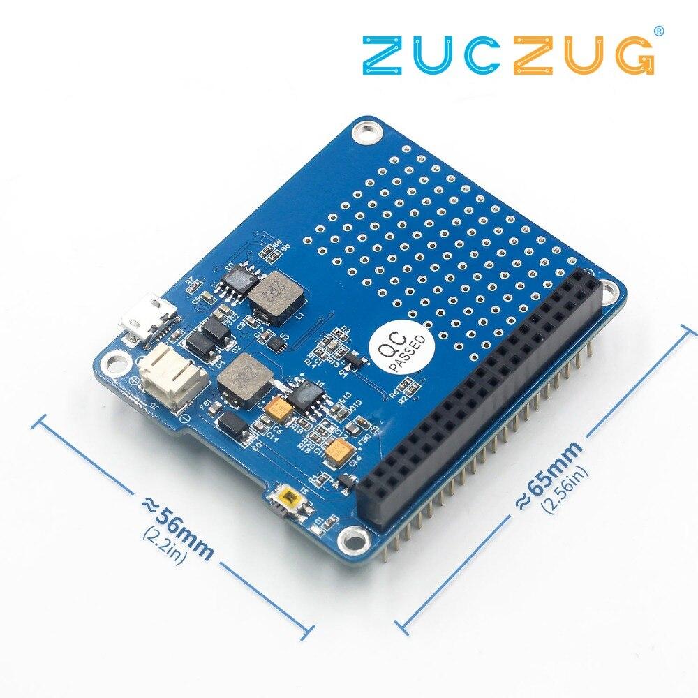 1PC UPS HAT Board + 1500mAh Lithium Battery For Raspberry Pi 3 Model B / Pi 2B / B+ / A+ Board Module