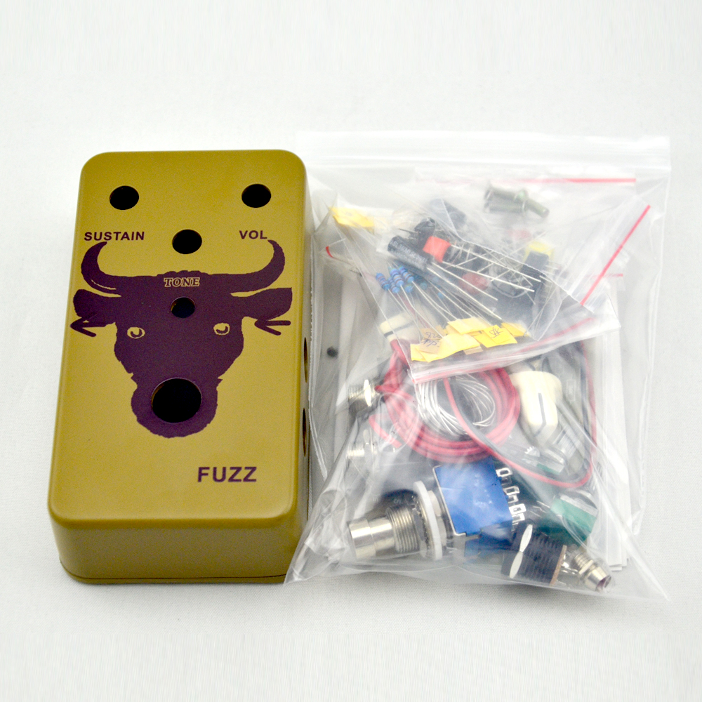 New DIY Fuzz Pedal All Kits Guitar Effects Pedal by Handmade True Bypass image