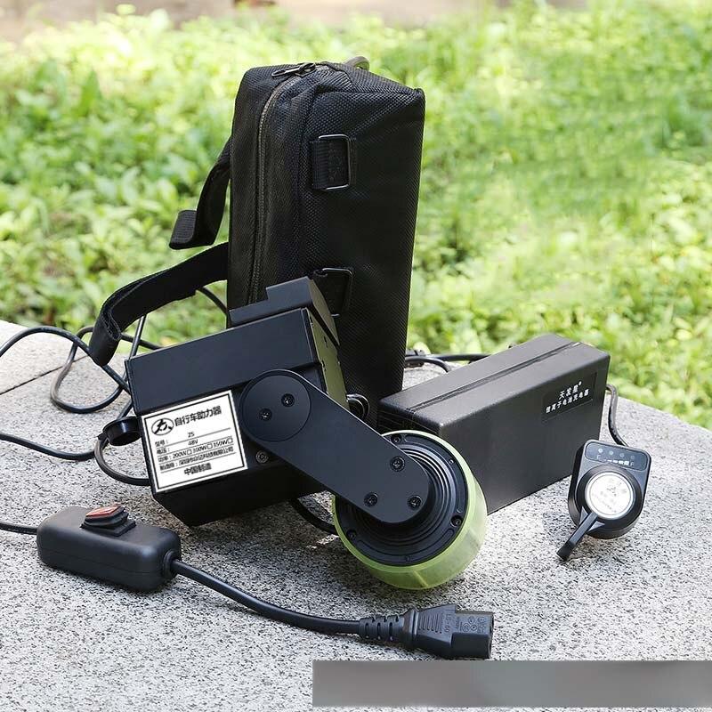 300 w impulsionador com bateria modificado ciclomotor kit de fricção bicicleta diy bicicleta elétrica 300 w brushless alta velocidade do motor acelerar