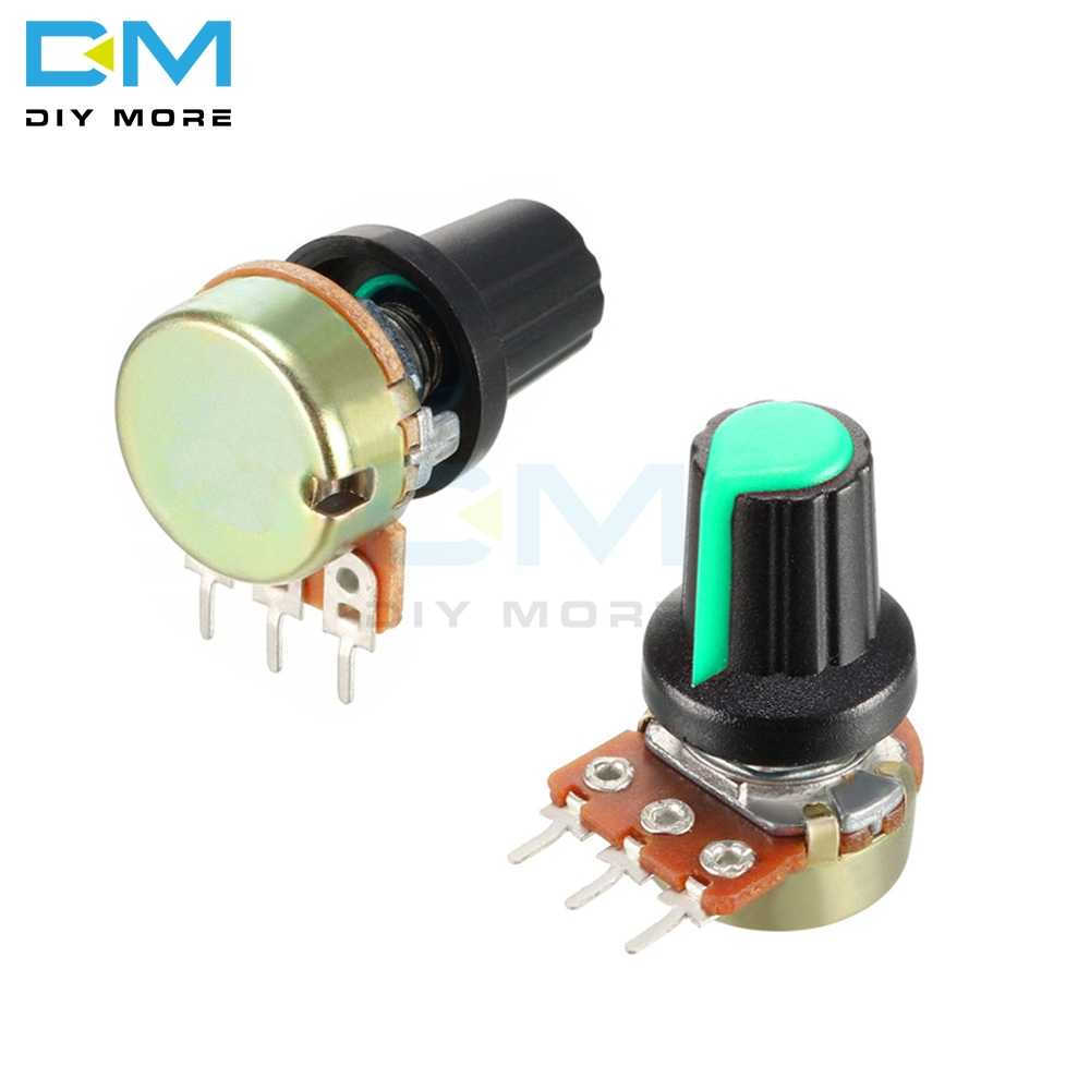 5Pcs Lot WH148 Rotary Potentiometer Linear Taper Potentiometer 1K 2K 3K 5K 10K 20K 30K 50K 100K 200K 300K 500K 1M Ohm Diymore
