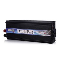 2000W MAX DC 12V AC 220V Vehicle Power Supply Switch On Board Car Inverter Charger POSTNL