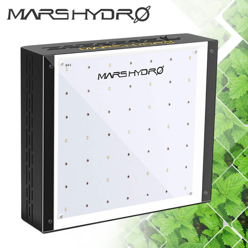 Mars Hydro ECO 49 LED Grow Light Lamp Indoor Garden Plants Full Spectrum Hydroponics System for Indoor Box