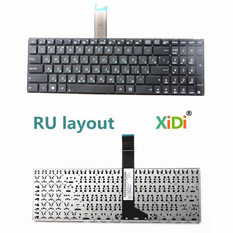 Russian Keyboard for ASUS X550 X550C X550CA X550CC K550V X552E A550L Y581C F550 W50J XJ6 RU Laptop