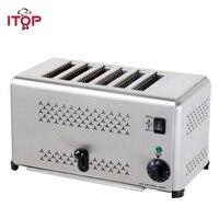 ITOP новые 4/6 частей тостер из нержавеющей стали быстро завтрак чайник машину хлеб сэндвич нагреватель выпечки инструменты 110 В/ 220 В