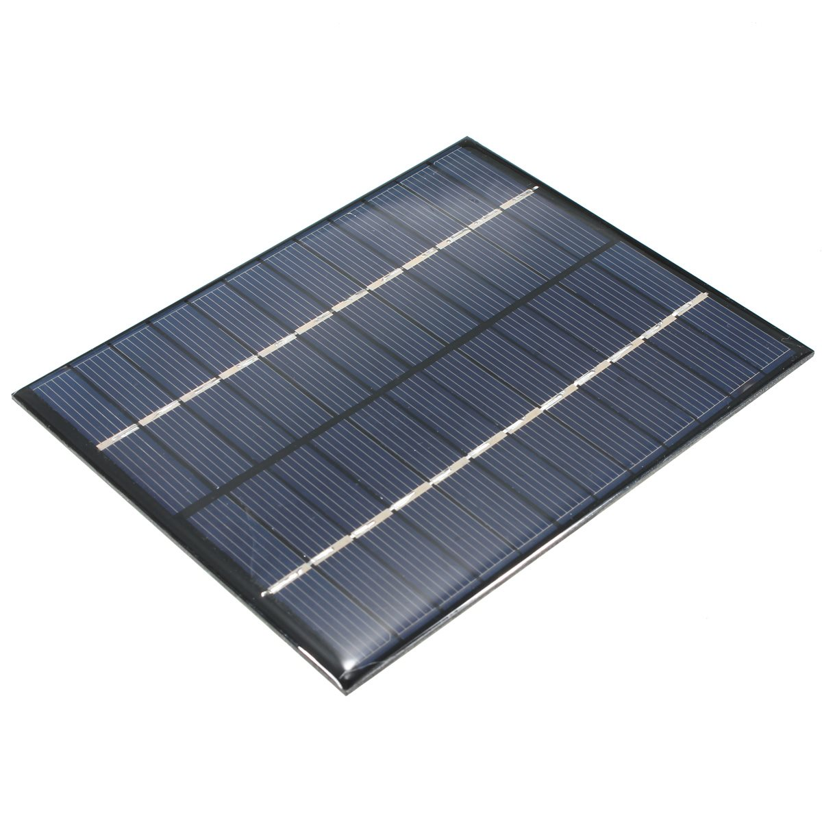 High Quality 12V 2W 160mA Polycrystalline Silicon Solar Panel Module Cells universal for Phones Charger DC Battery DIY 136x110mm