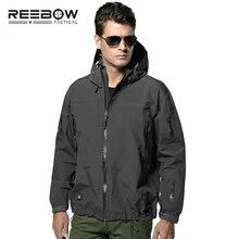 Мужская тактическая куртка с твёрдым корпусом, Мужская осенняя куртка в стиле милитари, водонепроницаемая ветрозащитная куртка для страйкбола, пейнтбола