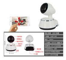 цена на Wireless WIFI 360 camera/monitor with cellphone remote control network high definition surveillance IP 720P camera