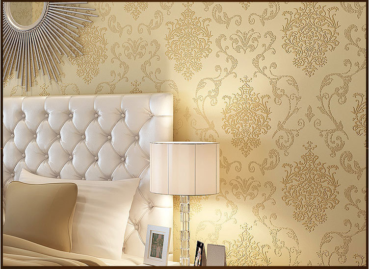 Papel De Parede 3d Room Wallpaper Roll For Walls Modern TV Sofa Contact Paper  Bedroom Living Room Chinese Glitter Wallpaper In Wallpapers From Home ...