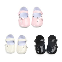 New Girls Bow Princess Single Shoes 2018 Spring Autumn Baby