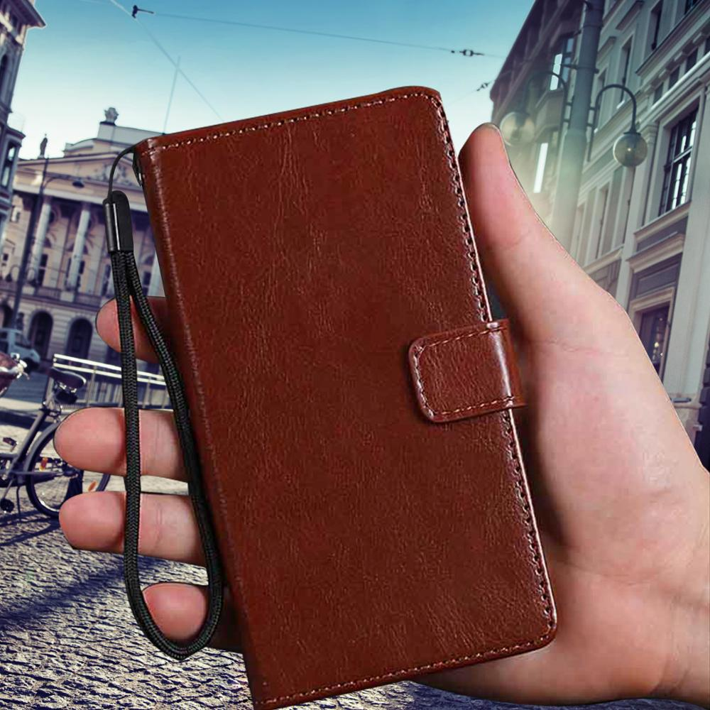 Flip cover for BQ Aquaris V Plus vs leather case wallet card slots stand mobile phone coque for bq V fundas bags shell