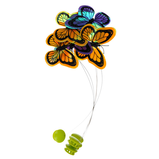 Electric Rotating Colorful Butterfly  4