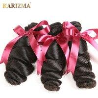 Karizma Peruvian Loose Wave 100 Human Hair Weaving Natual Color 8 28Inch Non Remy Hair 1
