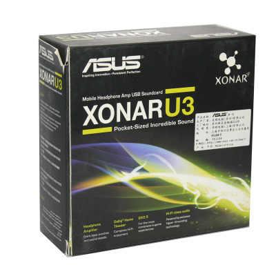 המקורי מלא חדש, ASUS U3 Xonar כרטיסי קול (XONAR_U3/בסדר/B/A)