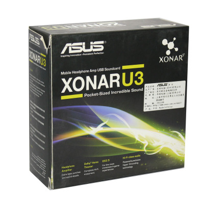 все цены на Original full new,ASUS Xonar U3 Sound Cards (XONAR_U3/UAD/B/A) онлайн