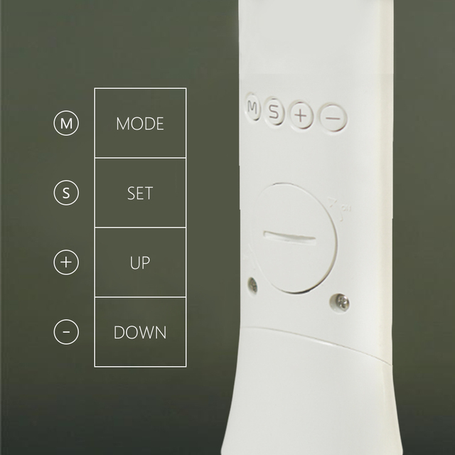 Touch Table Lamp with Alarm Clock  5