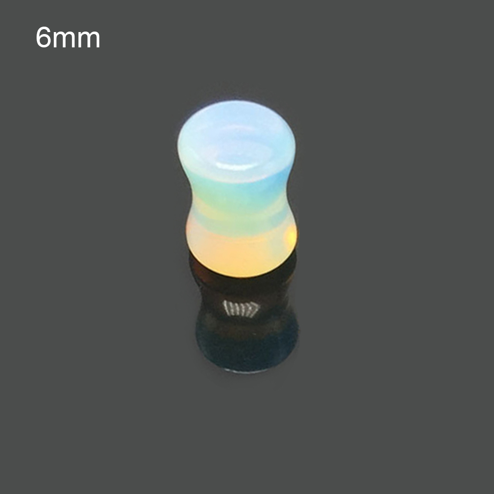 Flesh Tunnel Plug Piercing Glass Bottle Cork Message in a Men/'s Women/'s