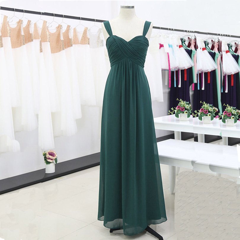 Bridesmaid Dresses Ruched Wedding Pleated Formal Elegant Long Vestido High-Waisted Women